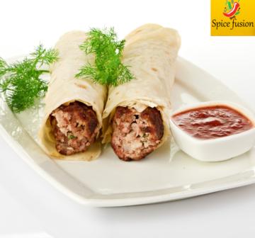 Seekh kabab Wrap